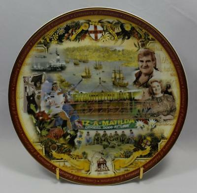 "Collectors Plate - The Centenary of Federation ""1981-2001 A Nation Shines"