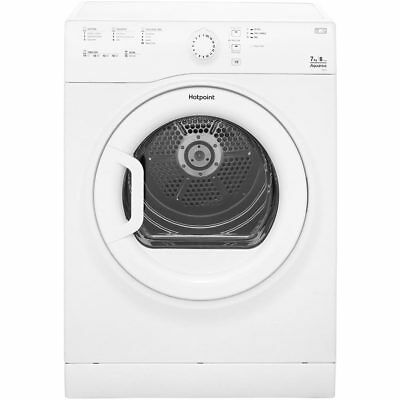 Hotpoint TVFS73BGP Aquarius B Rated 7Kg Vented Tumble Dryer White New
