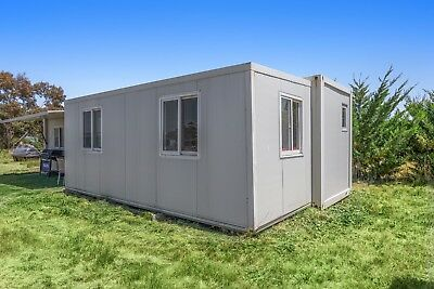 TRANSPORTABLE EXPANDA CABIN, 1 BR  INSTALLED BATHROOM AND KITCH 5.9m x 4.4m