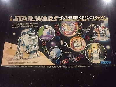 Star Wars adventures Of R2-D2 Board Game