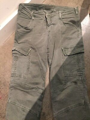 Women's Olive Green J Brand Jeans/pants Size 29 Excellent Condition