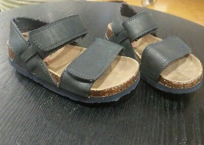 Seed heritage boys navy blue sandals size 25