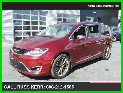 2017 Chrysler Pacifica Limited 2017 Limited Used 3.6L V6 24V Automatic Front Wheel Drive Minivan/Van Moonroof