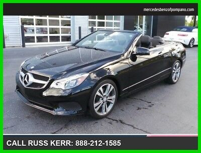 2014 Mercedes-Benz E-Class E 350 2014 E 350 Used 3.5L V6 24V Automatic Rear Wheel Drive Convertible Premium
