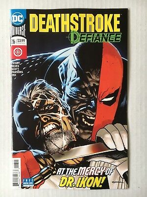 DC Comics: Deathstroke #26 (2018) - BN - Bagged and Boarded