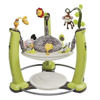 Evenflo ExerSaucer Jump and Learn Jumper, Jungle Quest FREE SHIPPING