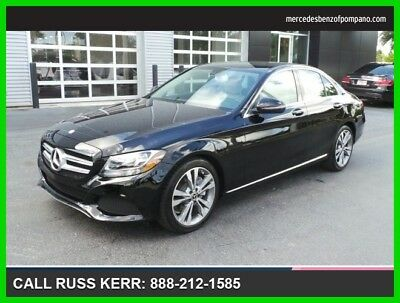 2017 Mercedes-Benz C-Class C 300 2017 C 300 Used Turbo 2L I4 16V Automatic Rear Wheel Drive Sedan Premium