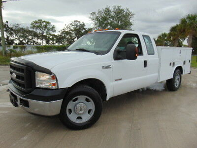 "2006 Ford F-350 READING BED SUPER DUTY 2006 FORD F-350 DIESEL ""SUPERCAB"" UTILITY SERVICE MECHANIC'S TRUCK"