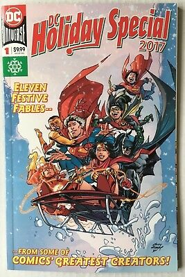 DC Comics: Holiday Special 2017 #1 Bagged and Boarded BN