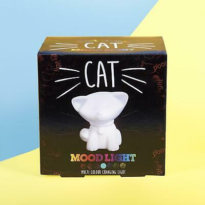 Cat Mood Light Colour Changing LED Cat Sensory Mood light