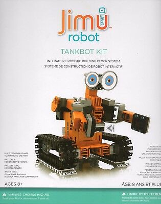 New Jimu Robot JR0605 Tankbot Kit Interactive robotic building block system