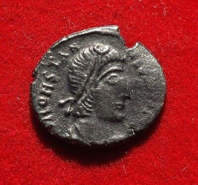 LOVELY !!! AE3  of  CONSTANTIUS II  337 - 361 AD - CYZICUS  mint