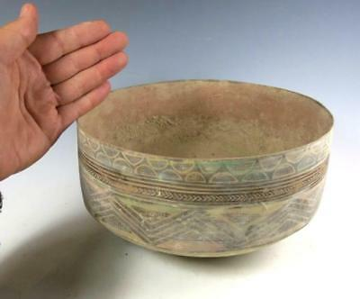 LARGE  Indus Valley – Balochistan ancient pottery bowl.