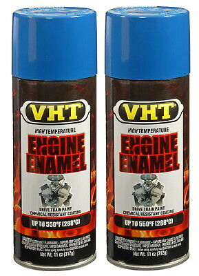 2 X Vht Sp153 Old Ford Blue Engine Enamel Paint