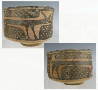 VERY UNUSUAL  Indus Valley – Balochistan ancient pottery bowl.