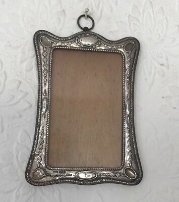 An Antique Solid Silver Arts And Crafts Picture Frame Birmingham 1910 G&C Ltd