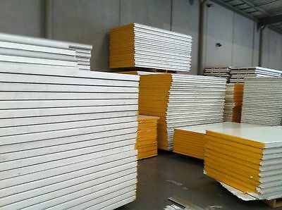 Sandwich panels (partition/coolroom/insulation/refrigeration) boards, $26.00/m²