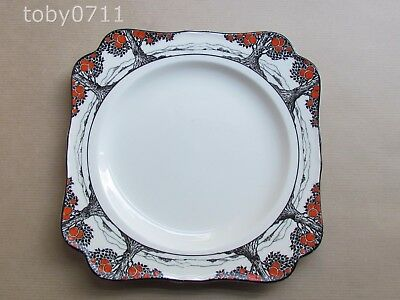 "CROWN DUCAL ORANGE TREE 8¼"" SQUARE CAKE PLATE (Ref2663)"