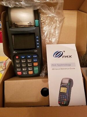 BRAND NEW Pax S80 credit card in original box with cords