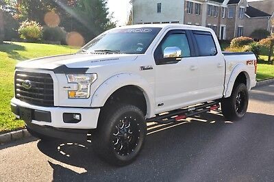 2017 Ford F-150 Custom Sherrod Edition with Roush Exhaust 2017 Ford F150 Crew Max Custom Edition - All Done By Ford