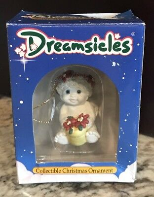 Dreamsicles DX292 Poinsettia Collectible Christmas Ornament