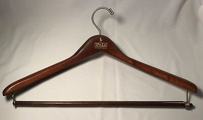 POLO Ralph Lauren Wood Suit Coat Jacket Pants Clothes Hanger
