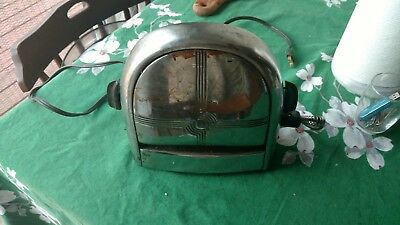 antique two slice toaster