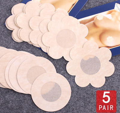10/20/50pc Breast Nipple Cover Instant Breast Lift Support Pasties Bra Sticker