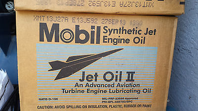 Mobil Jet Oil II  for Turbine Aircraft