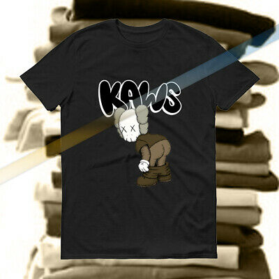 ad93a53a5ad6 KAWS UNIQLO MEN'S Logo T-shirt Size Large Japan Rare Size Tee Like ...