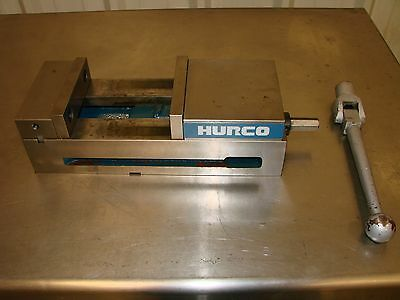 """6"""" Hurco Milling Vise - Good used Cond! - Free shipping in US to lower 48"""
