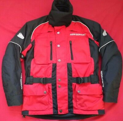 "HEIN GERICKE TOURER STX SHELTEX MOTORCYCLE JACKET UK 41"" 42"" Chest  EU 52  Large"