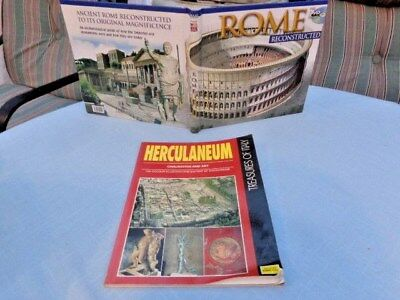 Rome Reconstructed and Ancient Roman Art with DVD + Herculaneum Civilisation Art