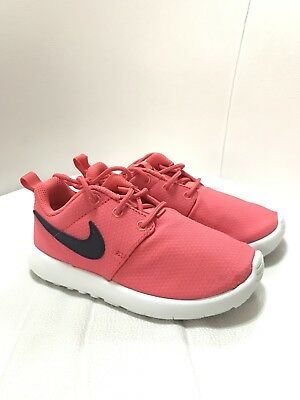 Nike Roshe One PS Youth Girls Ember Glow Pink 749422-801 Kids Size 12c
