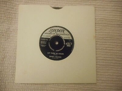 "Sandy Nelson ""LET THERE BE DRUMS"" b/w ""QUITE A BEAT"""