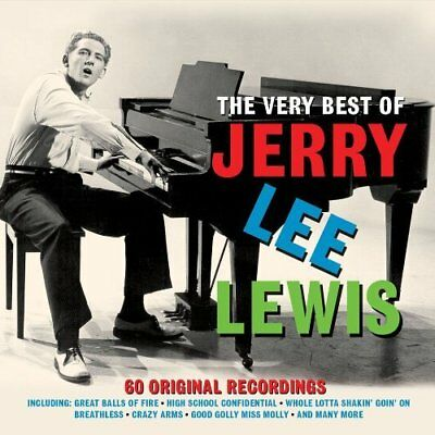 """Lewis, Jerry Lee""-Very Best Of 3Cd  (US IMPORT)  CD NEW"