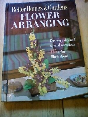 Flower Arranging reference books Ortho Better Home & Gardens Merehurst 4 books