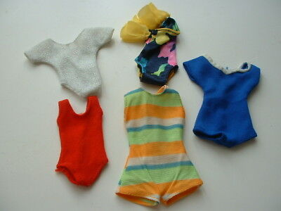 Mixed Sindy doll costumes/leotard