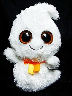 "Ty 2010 GHOSTY Halloween GHOST 9"" 1st. Ed Beanie Boo BUDDY MINT w Tags Free Ship"