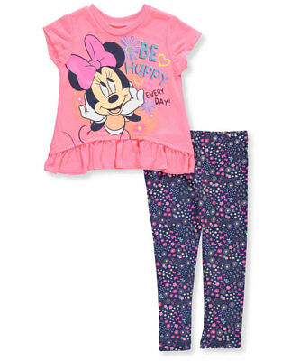 Disney Minnie Mouse Girls' 2-Piece Outfit (Sizes 2T - 4T)