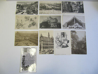 Eleven Mixed Postcards including some European