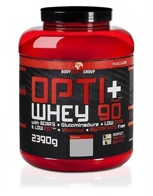 BWG Opti Whey Protein 90 2,3kg Dose Cafe Brazil [MHD12/17] x