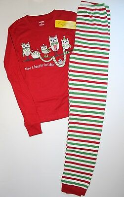 2025d1c3f953 NEW GYMBOREE HAVE a Hootin  Holiday Owl 2 Piece Pajamas Gymmies Size ...