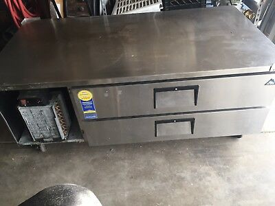 "Everest ECB52-60D2 60"" Double Drawer Chef Base"