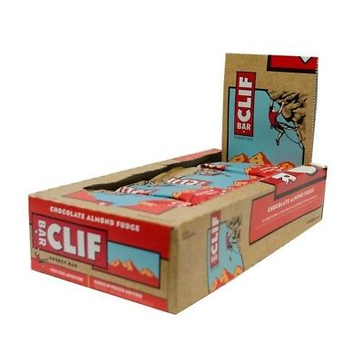 CLIF BAR Riegel 12er Box Protein Energy Bar Cool Mint Chocolate [MHD01/18] ip