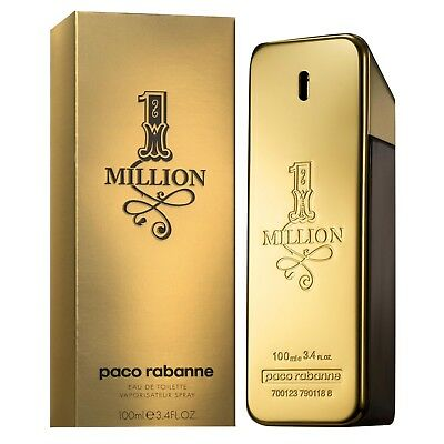 1 Million von Paco Rabanne Eau de Toilette Spray 100ml für Herren  for man