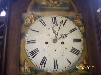 8ft tall longcase clock (Lincoln cathedral)