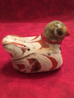 Old Vintage Antique Phoenician Mosaic Glass Bird Bead / Pendant. Very Rare