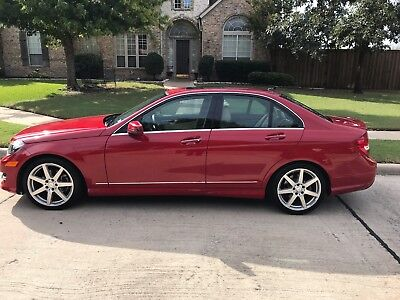 2014 Mercedes-Benz C-Class C250 2014 Mercedes C250 - Red w/Beige Interior, Sunroof - Very Clean and Fun!