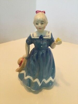 "ROYAL DOULTON Figurine ""A POSY FOR YOU"" HN 3606 (1993) Handpainted Mint"